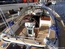 Hallberg-Rassy 39 cockpit