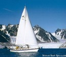 Hallberg-Rassy 46 en navigation
