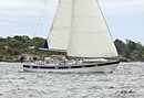 Hallberg-Rassy 49 sailing