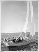 Hallberg-Rassy P-28 MkI sailing