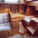Hallberg-Rassy 312 MkII accommodations
