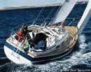 Hallberg-Rassy 312 MkII en navigation