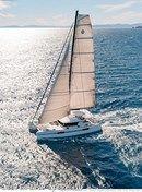 Lagoon 52 S sailing