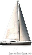 Northshore  Southerly 57RS sailplan
