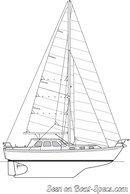 Northshore  Vancouver 34 Pilot sailplan