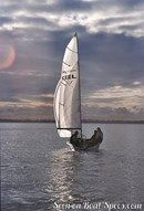 Laser Performance Laser Stratos sailing