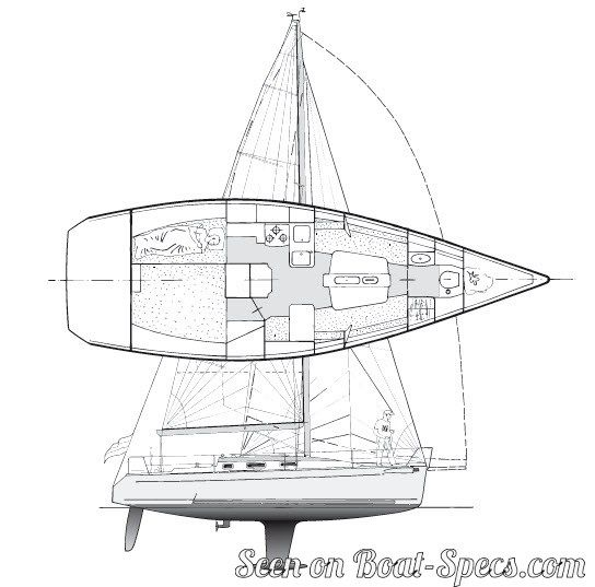 34 Reviews: Bénéteau 34.7 Deep Draft Sailboat Specifications And