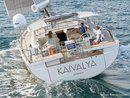 Hanse 675 en navigation