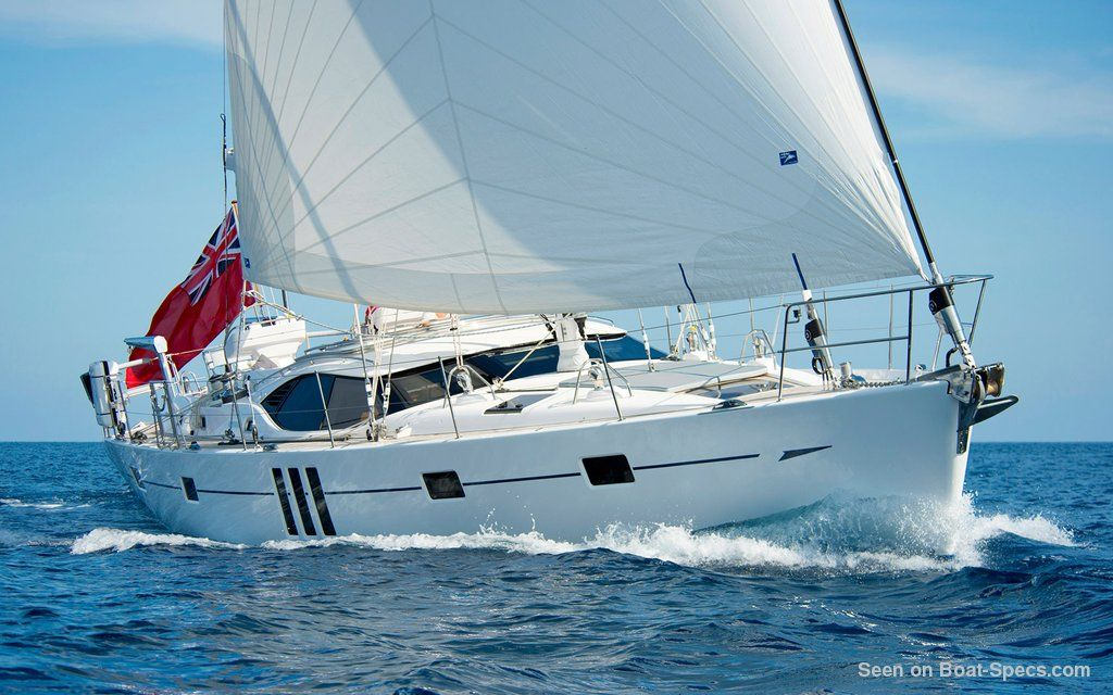 Oyster 575 keel and centerboard sailboat specifications and details on  Boat-Specs com