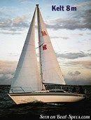 Kelt 8m sailing