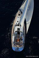 Jeanneau 58 sailing