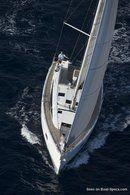 Jeanneau 54 en navigation