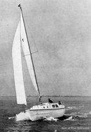Westerly Longbow sailing