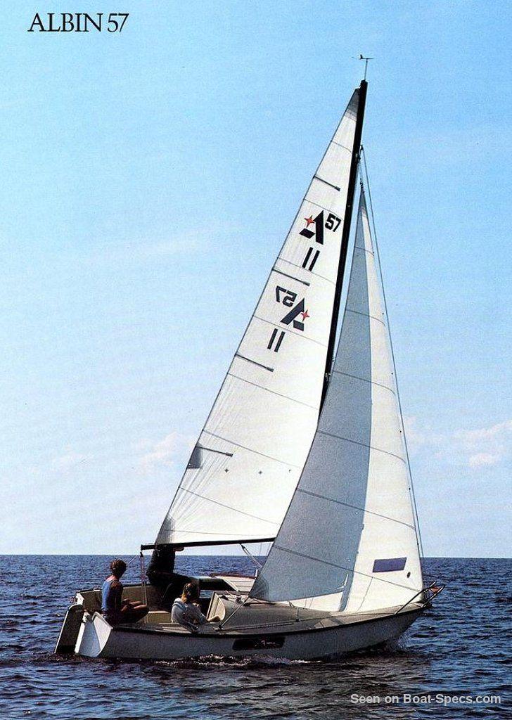 Albin 57 (Albin Marine) - Fiche technique de voilier sur