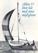 Albin Marine Albin 57 sailing