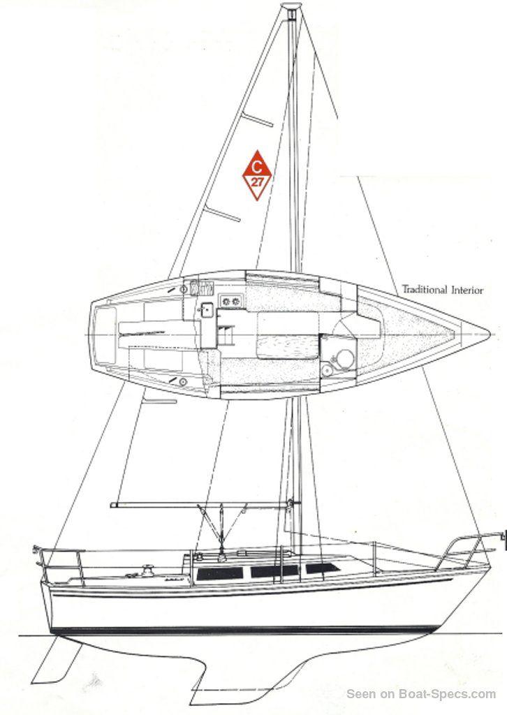 Catalina 27 tall rig (Catalina Yachts) sailboat