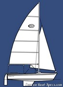 Catalina Yachts Catalina 14.2 sailplan