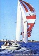 Bénéteau R/C 27 sailing