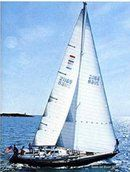 Nautor's Swan NYYC 48 en navigation