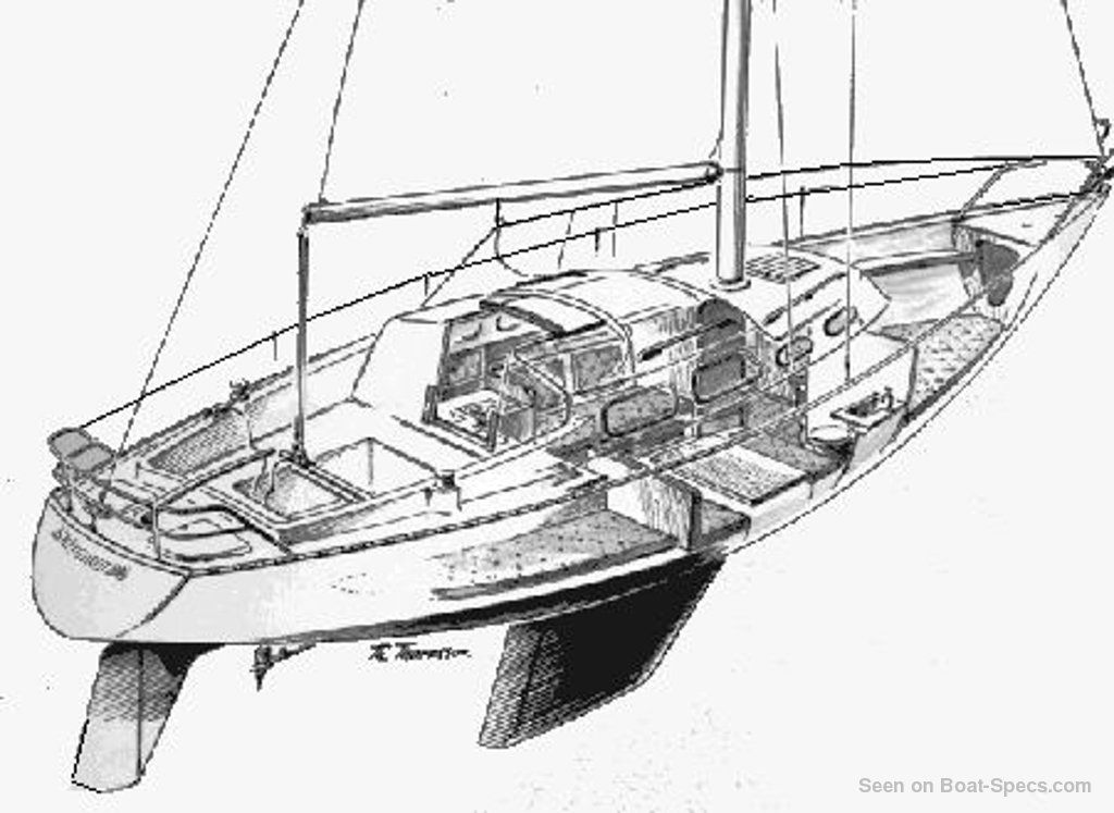 shipman 28 sailboat specifications and details on boat
