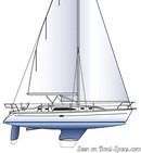 Catalina Yachts Catalina 375 sailplan