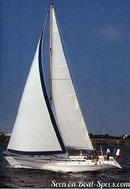 Bénéteau First 435 sailing
