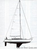 Bénéteau First 435 sailplan