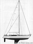 Bénéteau First 456 sailplan