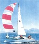 Amel Super Mistral Sport en navigation