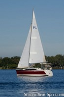 Marlow Hunter 31 sailing