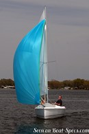Marlow Hunter 18 sailing