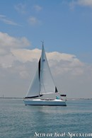 Marlow Hunter 33 sailing