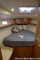 Marlow Hunter 40 accommodations