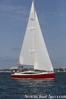 Marlow Hunter 40 sailing