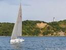 Hanse 548 en navigation