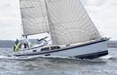 Hallberg-Rassy 340 sailing