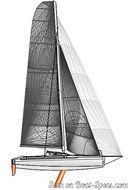 Marström Composite AB Seacart 30 sailplan