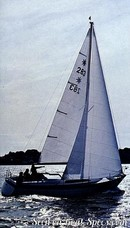 Moody 33S sailing