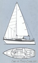 Moody 33S sailplan