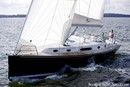 Moody 45 Aft sailing