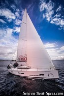 AD Boats Salona 380 sailing