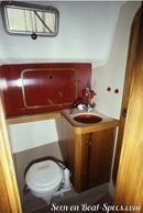 Bénéteau Idylle 13.50 accommodations