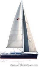 Discovery Yachts Group Southerly 330 plan de voilure