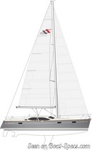 Northshore  Southerly 42 RST sailplan