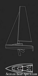 Seascape 24 sailplan