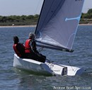 Ovington Boats VX Evo sailing