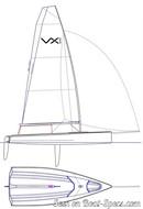 Ovington Boats VX Evo plan de voilure