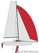 Bénéteau First 24 - 2018 sailplan