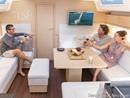 Hanse 458 accommodations