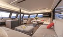 Fountaine Pajot  Alegria 67 accommodations